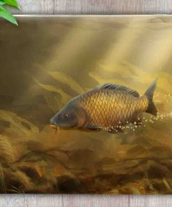 Worktop Saver (Common Carp) Personalised Gift