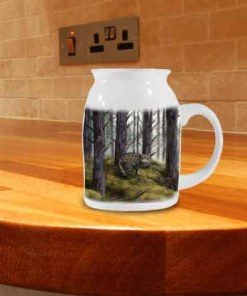 Highland Collection - Milk Jug (Wild Cat) Personalised Gift