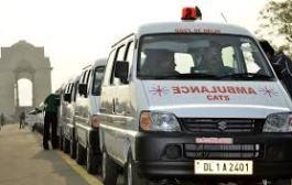 एंबुलेंस कर्मियों की हड़ताल से मरीज परेशान