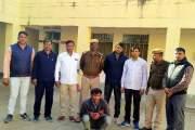 5 हजार के इनामी बदमाश को पुलिस ने किया गिरफ्तार।