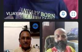 पटना /'सांगितिक पावस शिविर' के पाँचवे दिन बच्चों से मिले सुप्रसिद्ध फ़िल्म गीतकार विजय अकेला