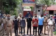 लुधियाना के फैक्ट्रियों में लूटपाट करने वाले एक गैंग के 5 सदस्य को पुलिस ने किया गिरफ्तार