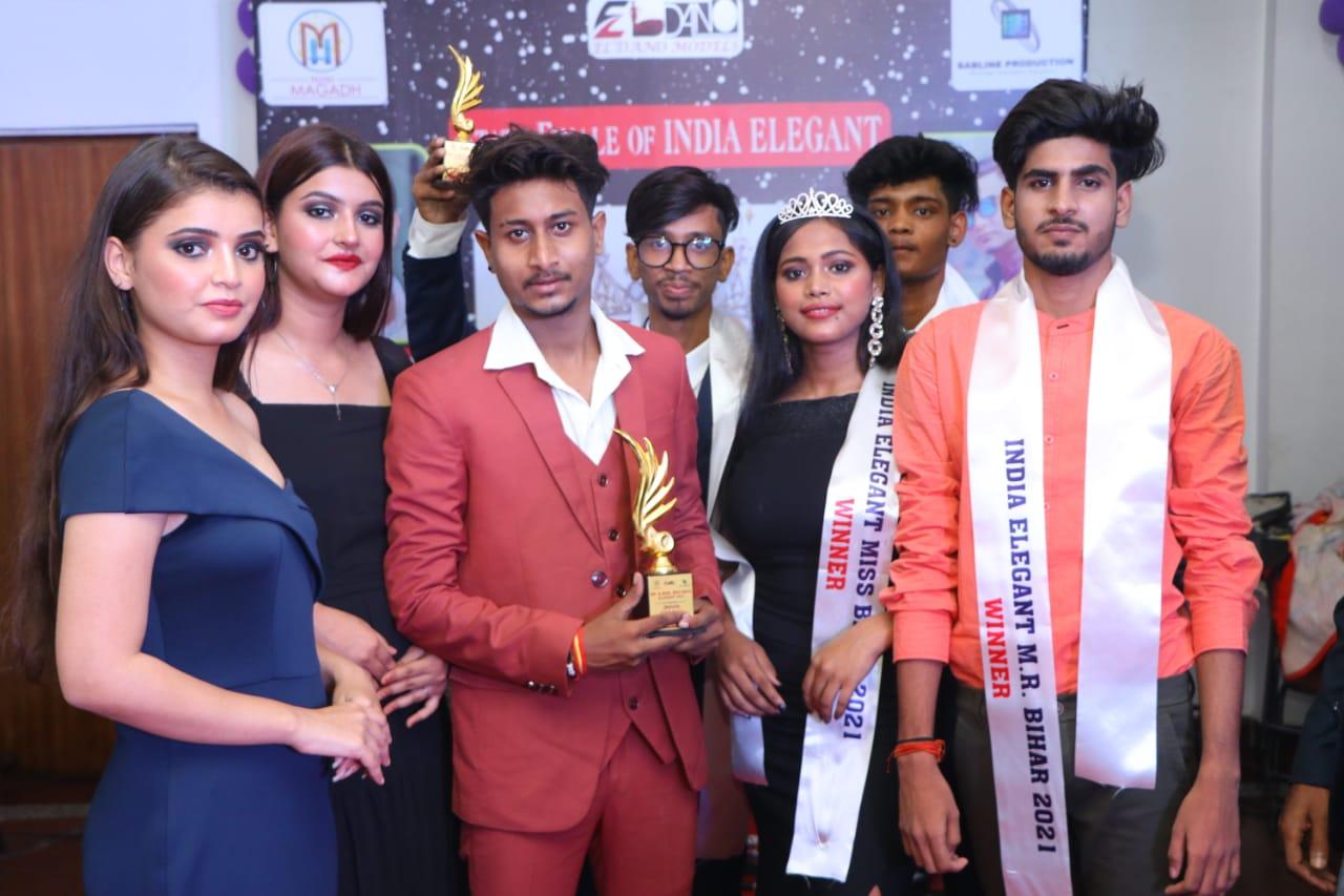 पटना /मधु दास बनीं इंडिया एलिगेंट मिस बिहार