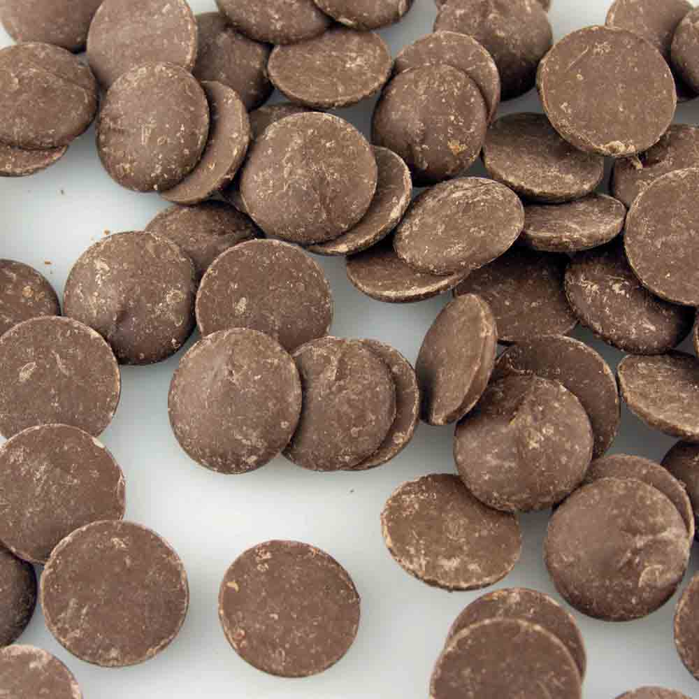Merckens Real Dark Yucatan Chocolate Buttons 70 9021