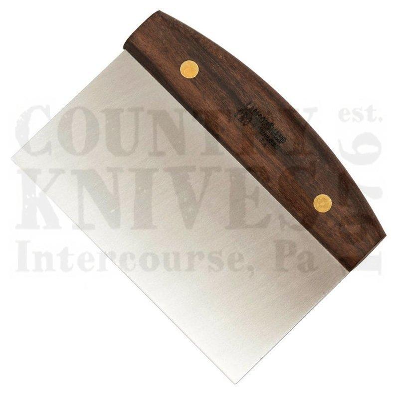 Lamson 34222 6 X 4 Dough Cutter Bench Scraper Walnut