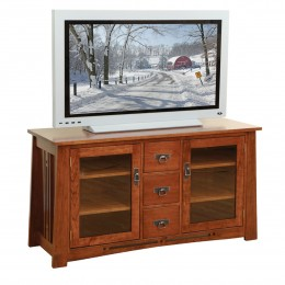 Hardwood TV Stands Amish Made In PA Country Lane Furniture