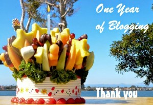 A Year of Blogging – Giveaway Alert!