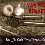 Vampires Beware! Bru Joy® Garlic Press is Here! Review and Giveaway
