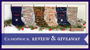 Tick Tock. Holidays are Coming-Get Your Camosock- Review + Giveaway!