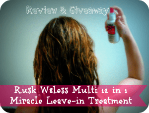 Rock those Locks with Rusk Miracle Treatment