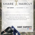 Hair Cuttery – Get a Haircut so You can Share a Haircut, too!