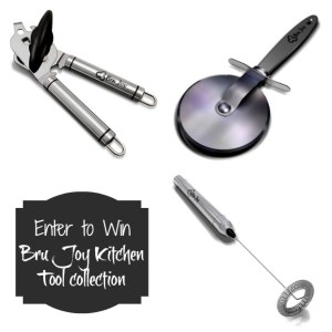 Bru Joy Kitchen Tools-Review & Giveaway