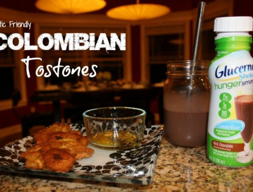 Diabetic Friendly Colombian Tostones