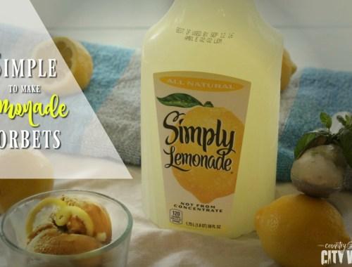 Lemonade Sorbet Recipes
