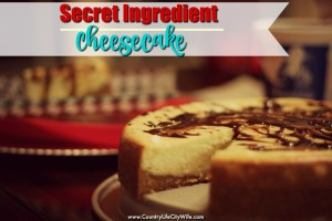 Secret Ingredient Cheesecake