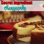 Secret Ingredient Cheesecake