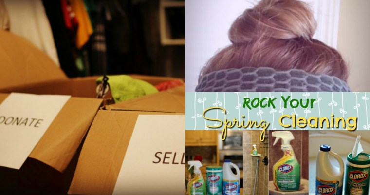 5 Ways to Rock Spring Cleaning