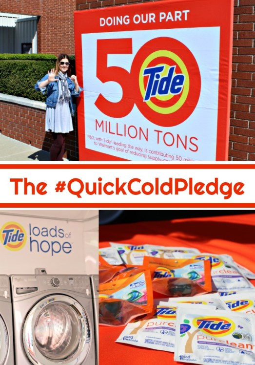 earth day tide walmart quick cold pledge