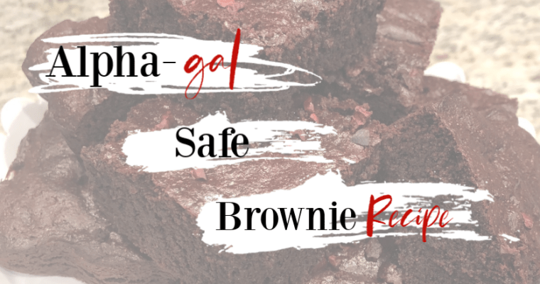 Alpha-gal safe Brownie Recipe