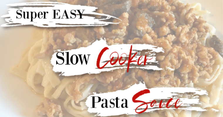Alpha-gal Safe EASY Slow Cooker Pasta Sauce