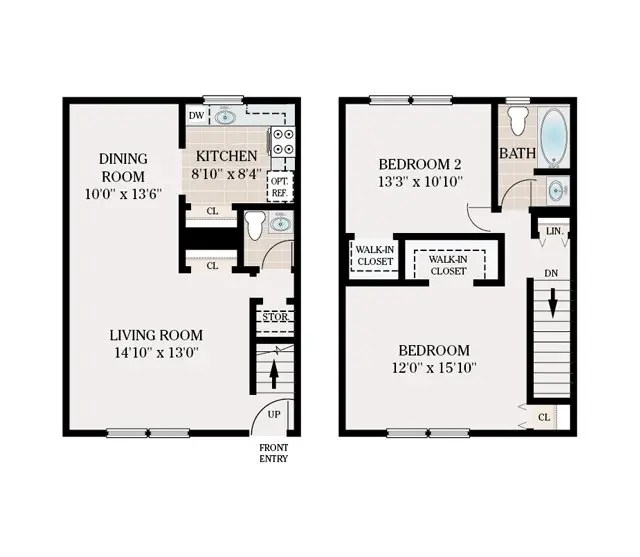FLOOR PLANS Country Living At Mapleview Apartments For