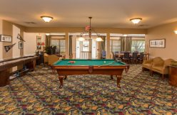 Pool Table at Country Meadows of Bethlehem