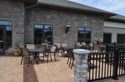 Patio at Country Meadows of Forks