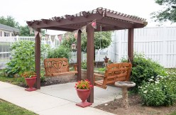 Pergola at Country Meadows of Hershey