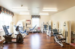 Fitness Room at Country Meadows of South Hills