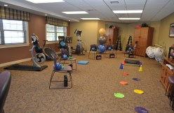 Fitness Room at Country Meadows of York-West