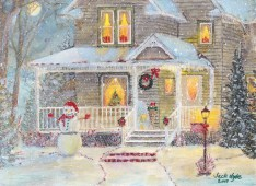 """""""Ready for the Holidays"""" Painted by Jack Hyde-a resident at Country Meadows of York"""