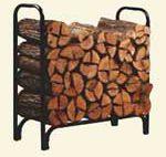 4 ft Deluxe Log Rack