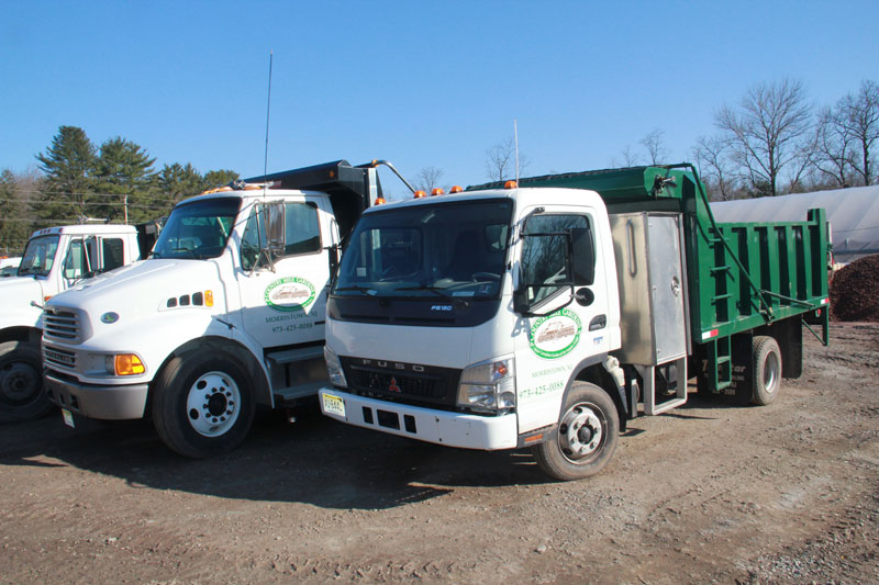 Our delivery trucks