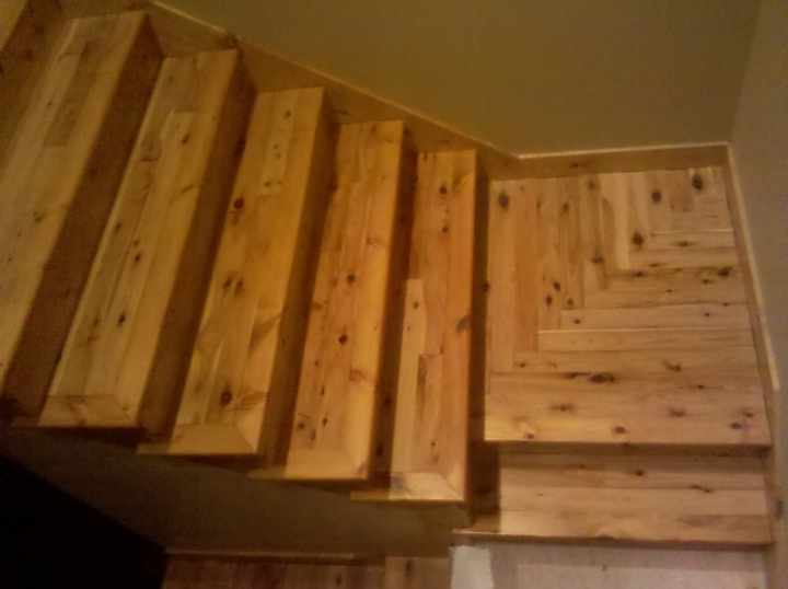 Photo Gallery Butcher Block Countertops Stair Parts Wood | Pine Wood Stair Treads | Stair Risers | Stair Nosing | Lumber | Unfinished Pine | Plywood