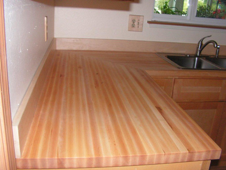 Photo Gallery - Butcher Block Countertops   Stair Parts ... on Maple Countertops id=46309