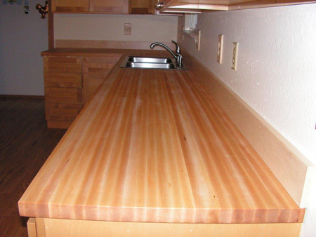 Photo Gallery - Butcher Block Countertops   Stair Parts ... on Maple Countertops id=36367