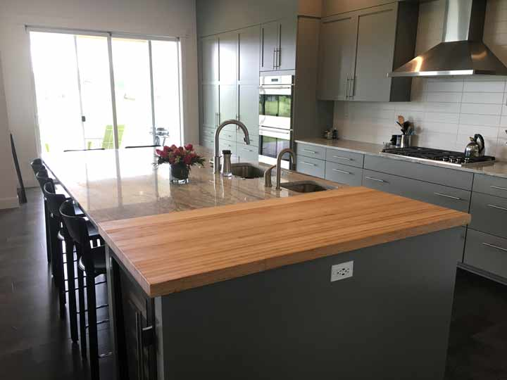 Photo Gallery - Butcher Block Countertops   Stair Parts ... on Maple Countertops id=99046