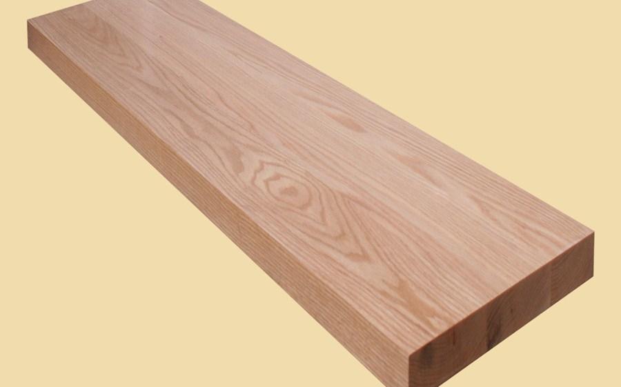 Custom Size Red Oak Extra Thick Stair Tread Prefinished   Custom Oak Stair Treads