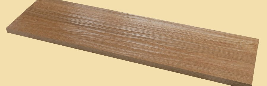 White Oak Hand Scraped Full Thickness Stair Tread Prefinished   Distressed Wood Stair Treads   Unfinished   Barn Wood   Diy   Commercial   Adhesive Padding 31 Wide Tread Single 10 Deep