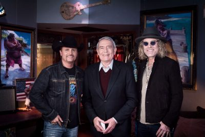 Big & Rich with Dan Rather on country music news blog!