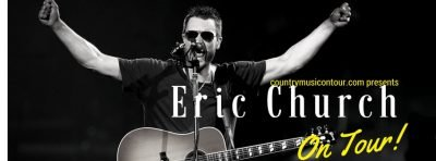 Eric Church Tickets on Country Music On Tour, your home for country concerts!