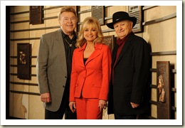 Roy Clark, Barbara Mandrell and Charlie McCoy are announced as the 2009 inductees of the Country Music Hall of Fame at a press conference hosted by the Country Music Association on Wednesday, Feb. 4 at the Country Music Hall of Fame and Museum in Nashville.  photo: John Russell