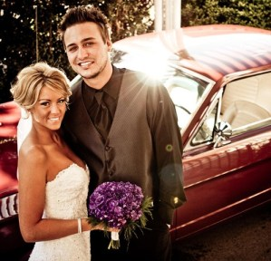 Love and Theft guitarist, Eric Gunderson marries Emily Hagar in Hendersonville, Tenn.