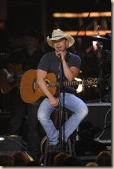 LAS VEGAS - APRIL 19:  Musician Kenny Chesney performs onstage during Brooks & Dunn's The Last Rodeo Show at the MGM Grand Garden Arena on April 19, 2010 in Las Vegas, Nevada.  (Photo by Ethan Miller/Getty Images)
