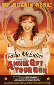 After Annie Get your Gun…could Reba be headed back to Broadway as Molly Brown