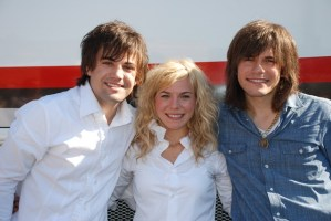 The Band Perry kick-off CD Release Week in their hometown of Greeneville, Tenn.
