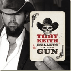 "Contest Winners! ""Bullets in the Gun,"" new CD from Toby Keith"