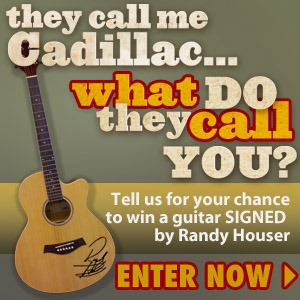 """""""Cadillac"""" Randy Houser Asks Fans: """"What Do They Call You?"""""""