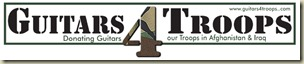 Guitars for troops Logo