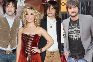 Eric Church and The Band Perry–winners for ACM Top New Artist